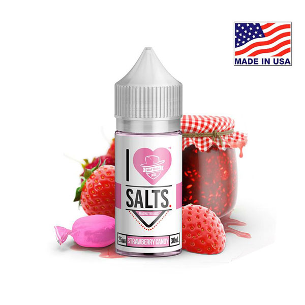 30ml Mad Hatter I Love Salts Strawberry Candy